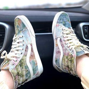 NEW Vans Sk8-Hi Tapestry Sneakers RARE
